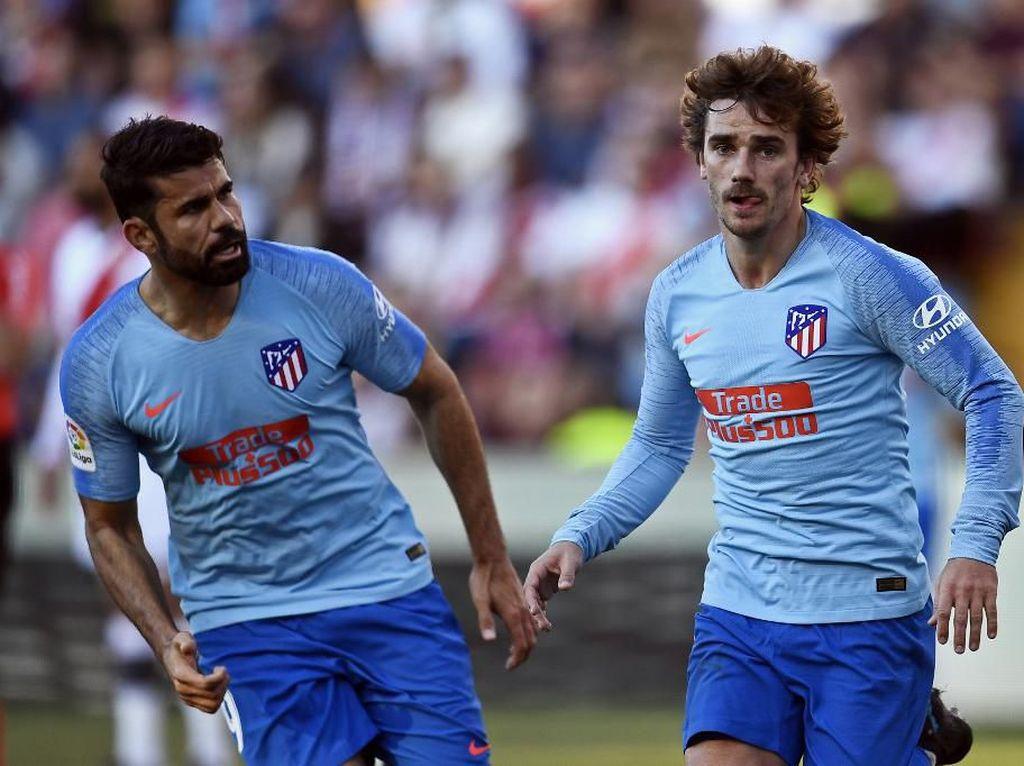 Diego Costa: Mimpi Griezmann Main Bareng Messi dan Suarez