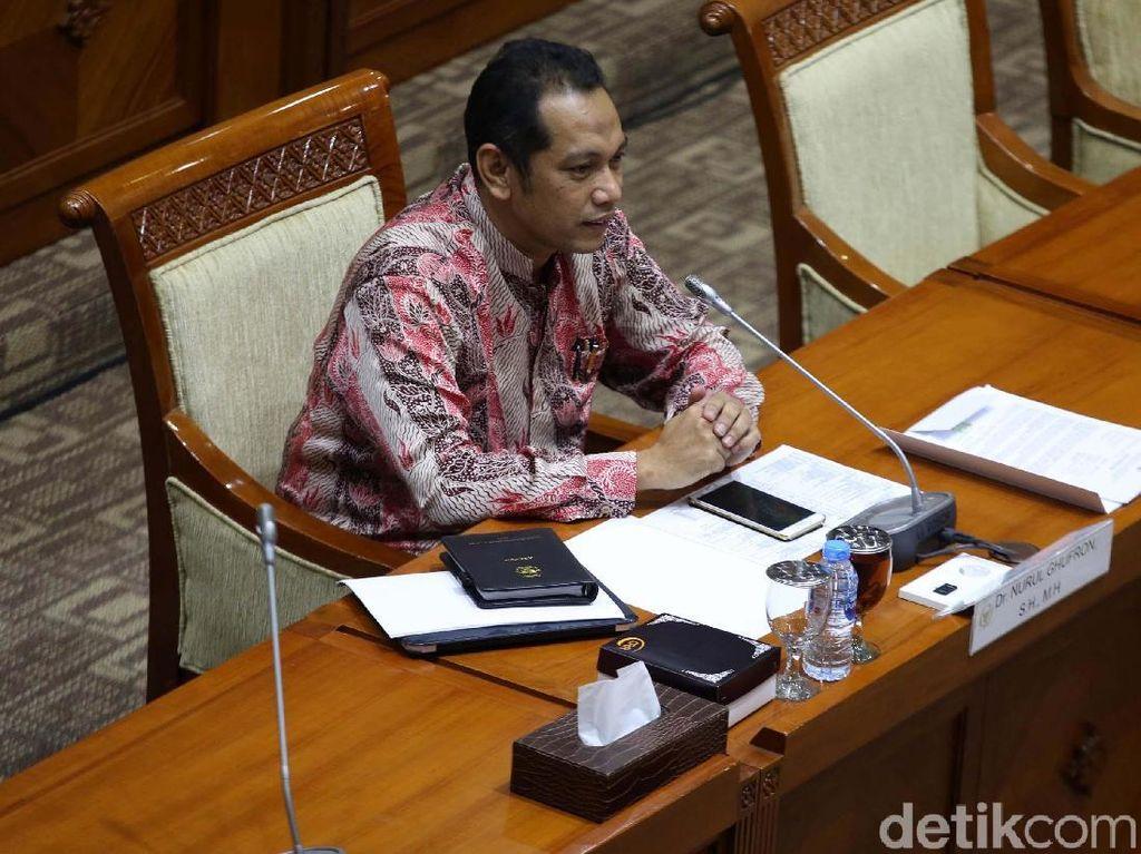 Capim KPK Nurul Ghufron Diuji Komisi III DPR