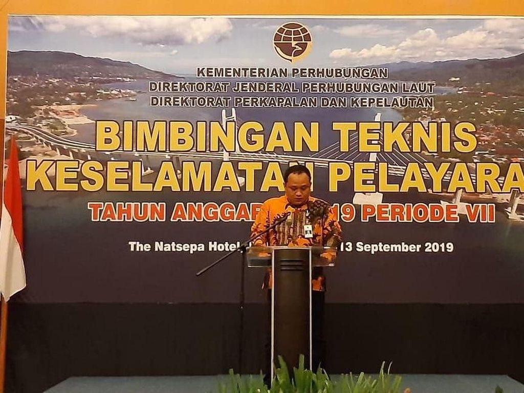 Kemenhub Gelar Bimtek Keselamatan Pelayaran di Ambon