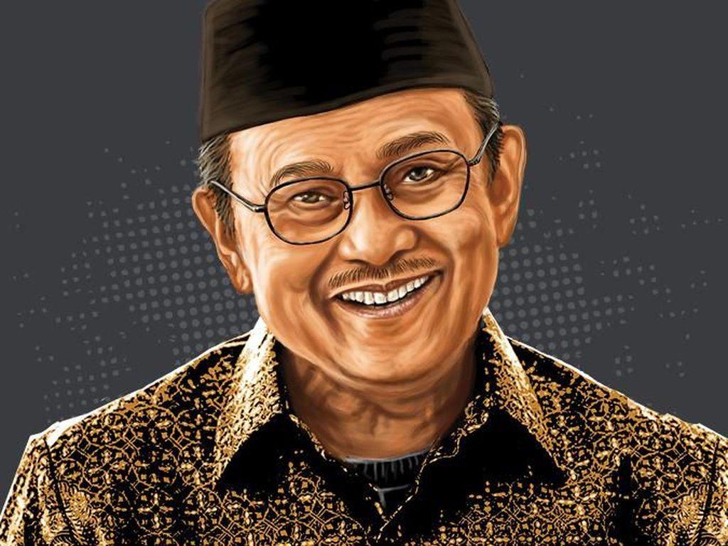 Biografis Mendiang BJ Habibie