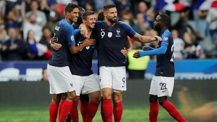 Prancis menang 3-0 atas Andorra dalam lanjutan kualifikasi Piala Eropa 2020 (Foto: Benoit Tessier/Reuters)