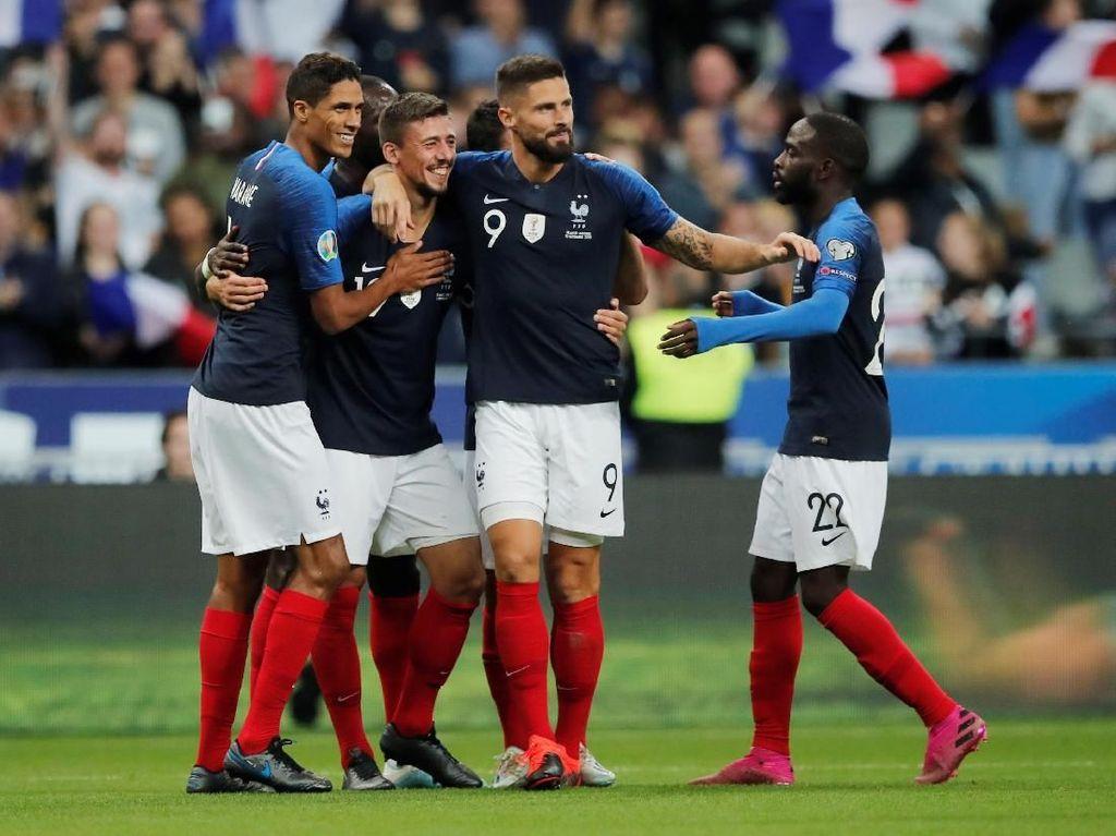 Hasil Kualifikasi Piala Eropa: Prancis Bungkam Andorra 3-0