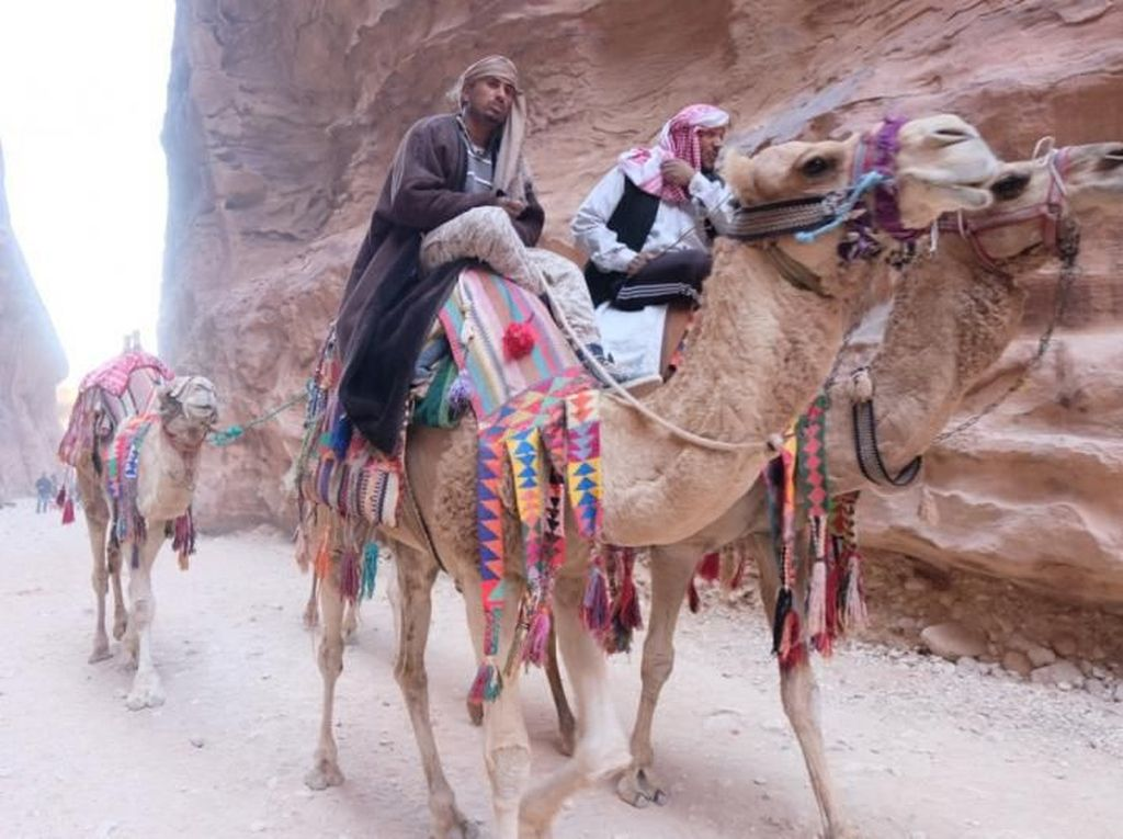 Menjelajahi Kota Batu Petra