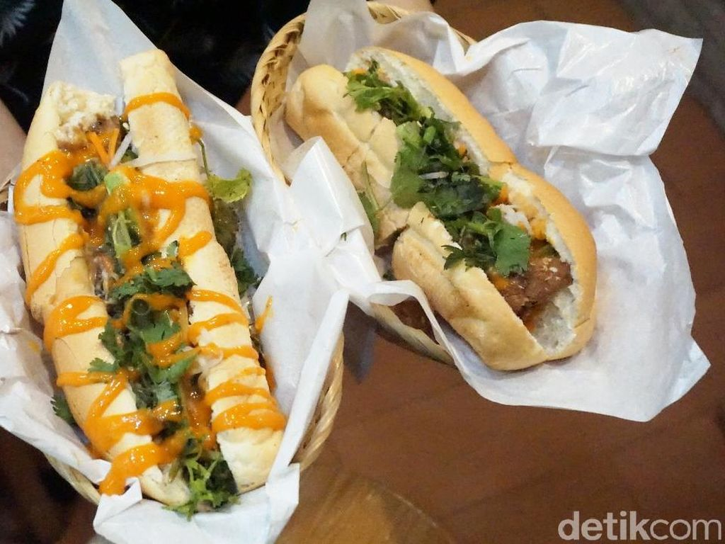 Banh Banh: Krenyes Segar Sandwich Unik Gaya Prancis dan Vietnam