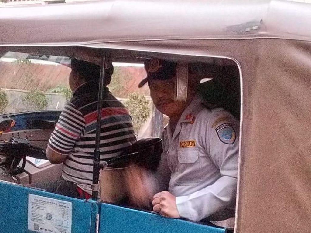 Petugas Dishub Naik MRT-Bersepeda Gencarkan Rabu Tanpa Kendaraan Pribadi