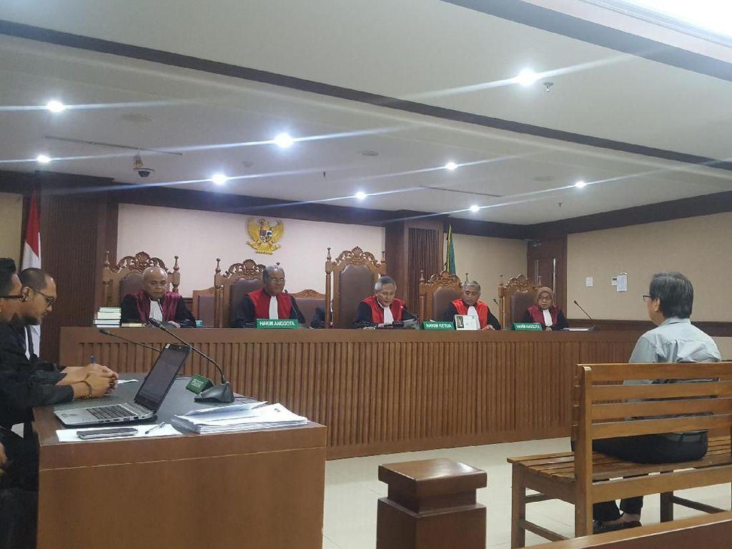 Penyuap Bupati Talaud Divonis 1,5 Tahun Penjara