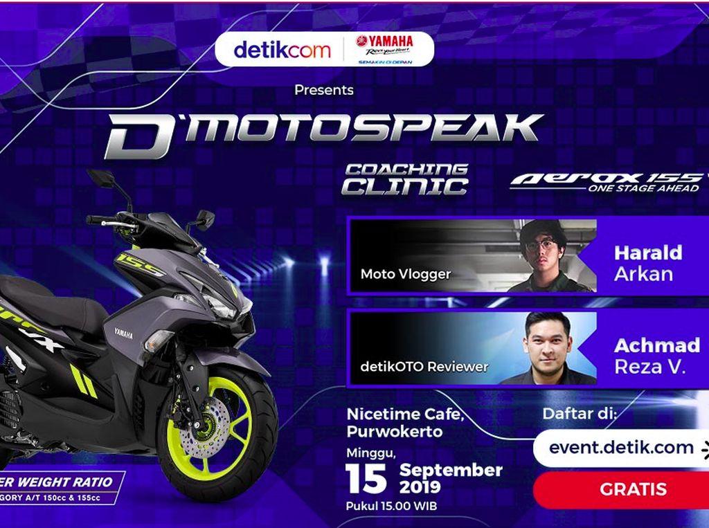 Ikuti Bedah Yamaha Aerox Yuk!