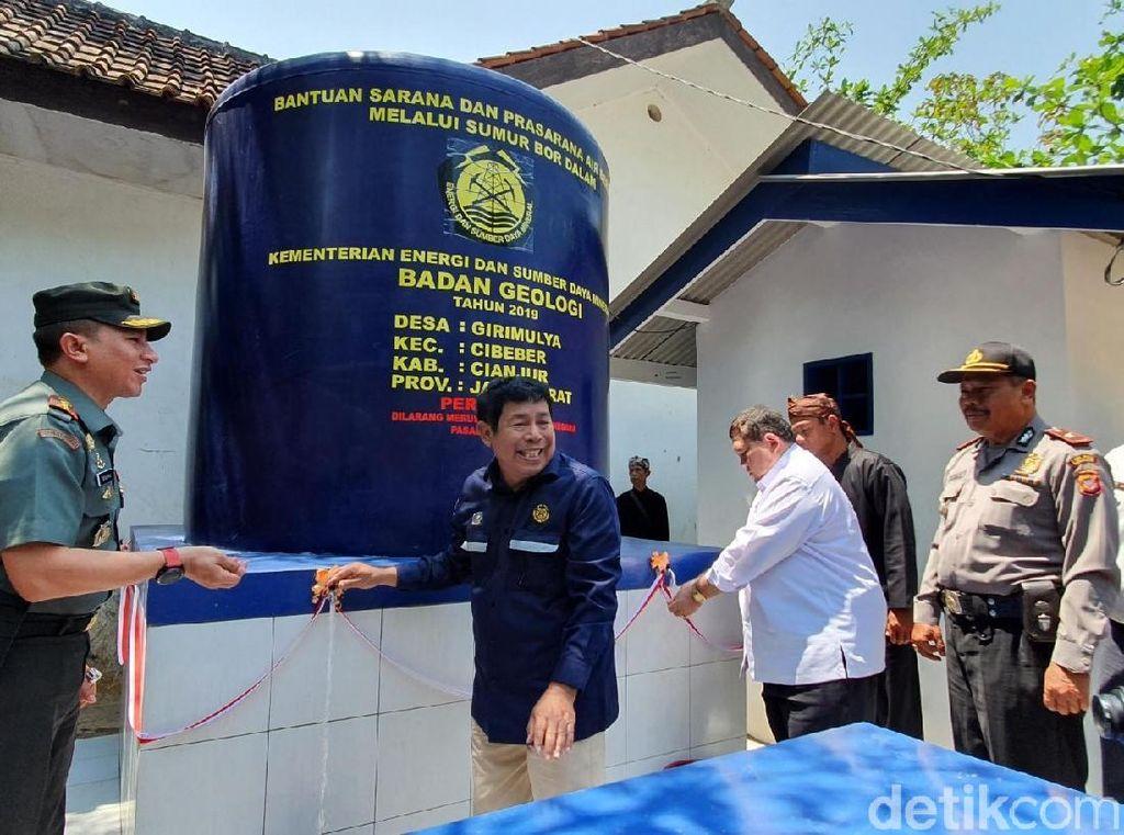 Atasi Kekeringan di Cianjur, Kementerian ESDM Bangun Sumur Bor