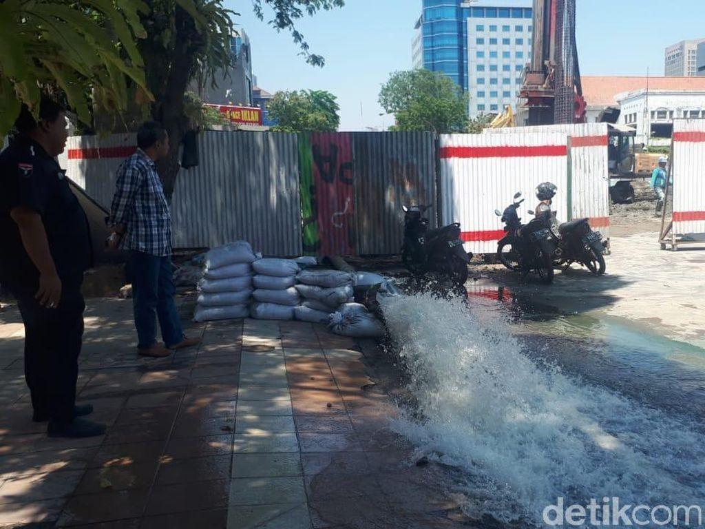 Air PDAM Surabaya yang Mampet 4 Hari Mulai Mengalir Meski Masih Keruh