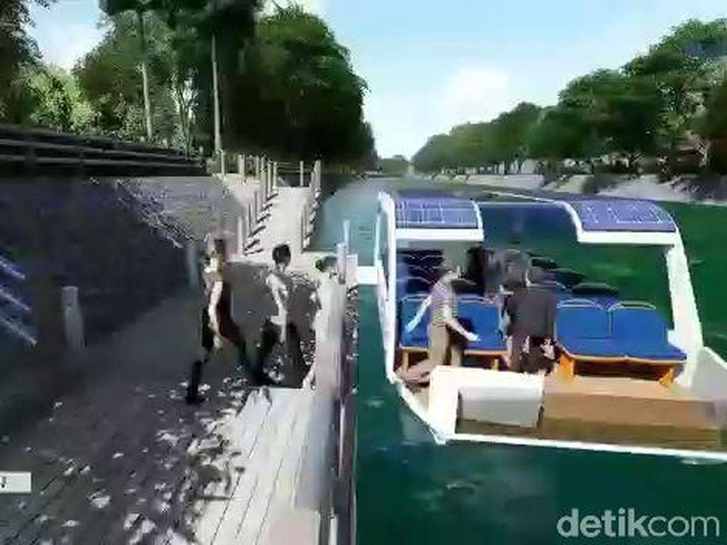 Atasi Kemacetan, Pemkot Surabaya Kembangkan Transportasi Sungai