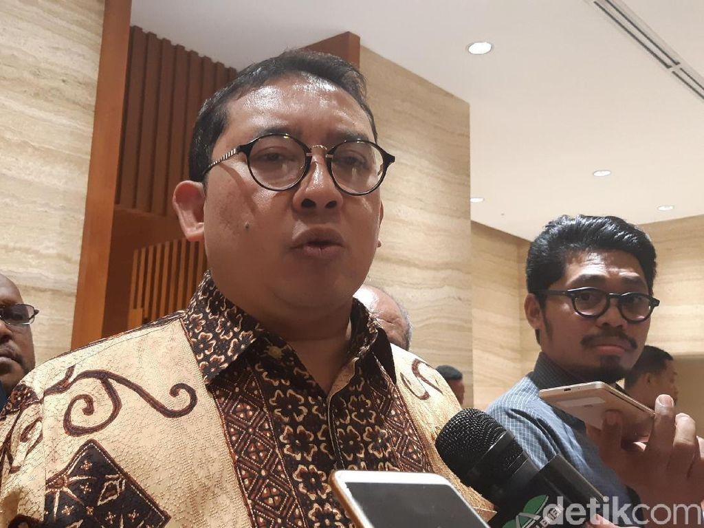Fadli Zon Bantah Jadi Menteri Jokowi: Itu Isu-isu