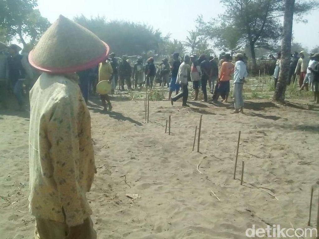 Tolak Pemagaran Lahan, Warga Urut Sewu Kebumen Bentrok dengan TNI