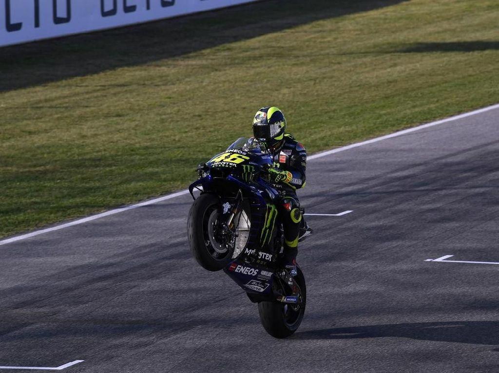 MotoGP San Marino: Rossi Bisa Bersaing di Barisan Depan