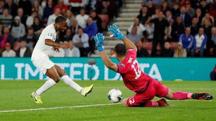 Inggris mengalahkan Kosovo 5-3 di Kualifikasi Piala Eropa 2020. (Foto: Andrew Boyers / Action Images via Reuters)