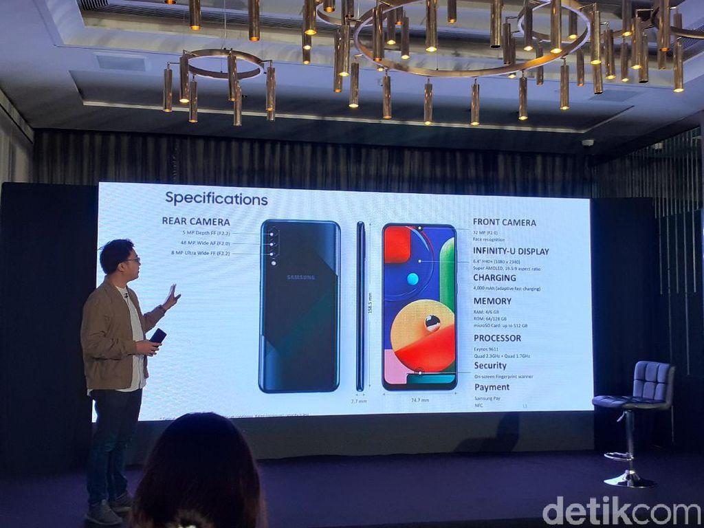 Ini Peningkatan yang Dibawa Galaxy A50s