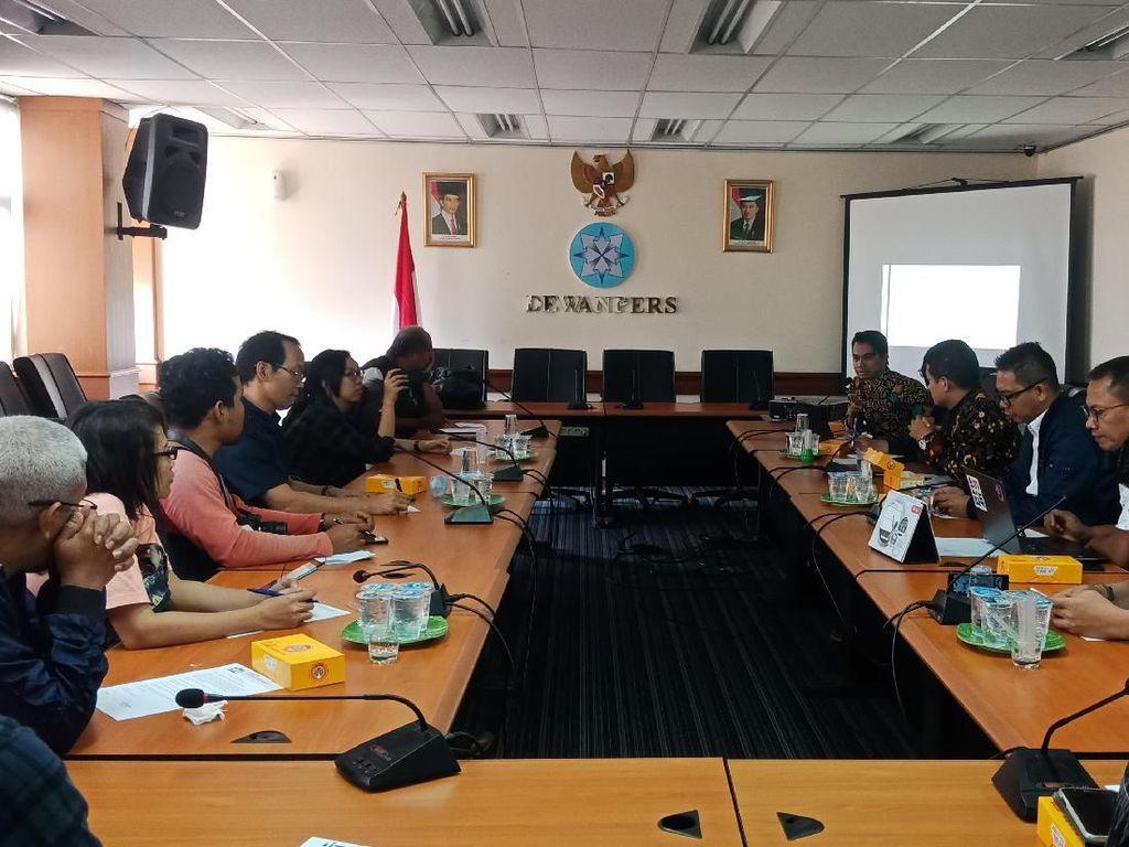 Dewan Pers Minta Jokowi Peduli Pasal yang Ancam Kebebasan Pers di RKUHP