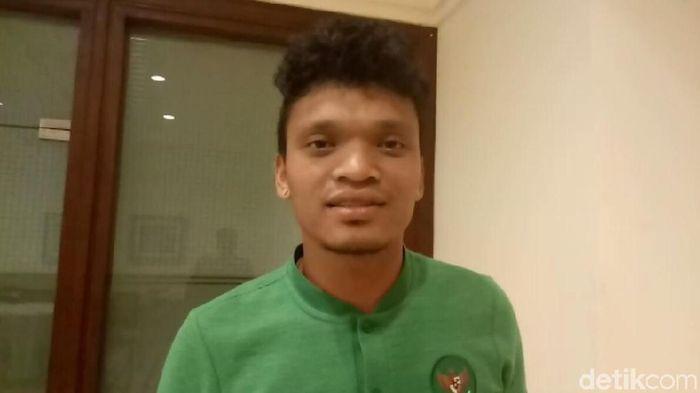 Ferdinand Sinaga bermain untuk Timnas Indonesia dan PSM Makassar dalam kurun waktu kurang dari 24 jam. (Foto: Amalia Dwi Septi/detikSport)