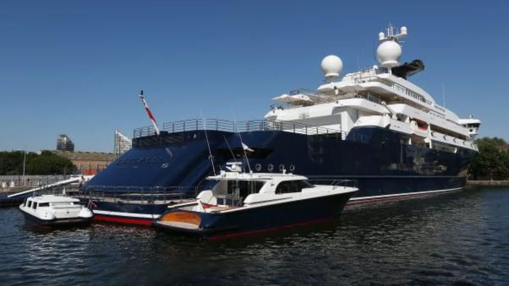 Foto: Yacht Milik Mendiang Bos Microsoft Dijual Seharga Rp 4,5 T