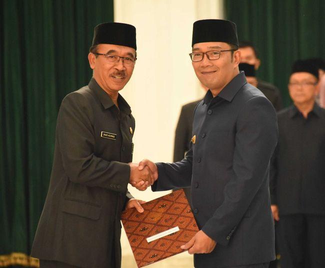 Berita Lantik Sekda Pemprov Jabar, Ini Pesan Ridwan Kamil Senin 17 Februari 2020