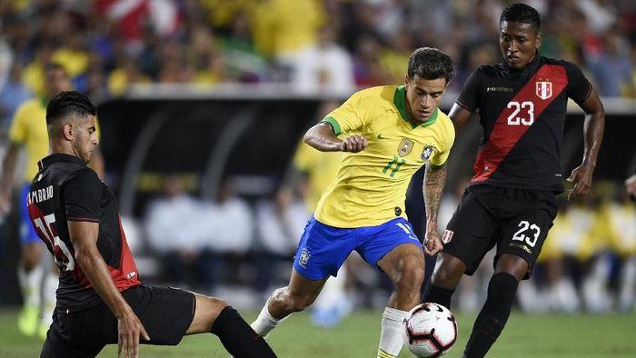 Brasil dikalahkan Peru di laga persahabatan (Kelvin Kuo-USA TODAY Sports)