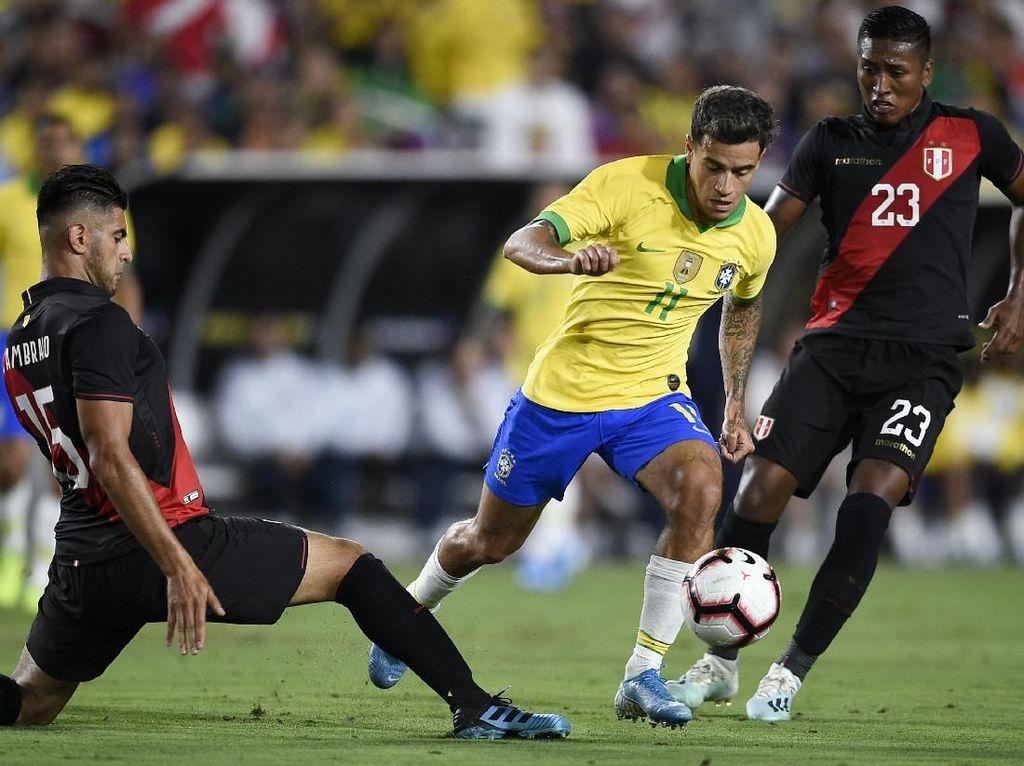 Peru Vs Brasil: Selecao Takluk 0-1