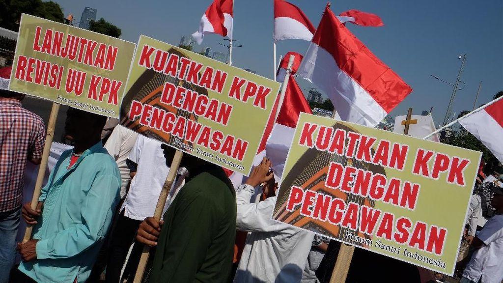 Dukungan untuk DPR Uji Capim KPK