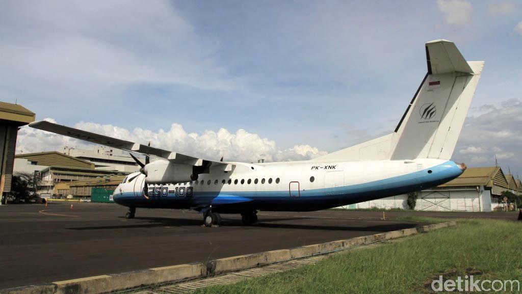 Ini Pesawat N250 Buatan BJ Habibie