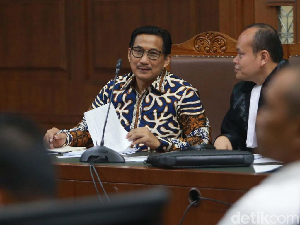 Tepis Balik Sofyan Basir, Bowo Sidik Akui Terima Uang untuk Dapil