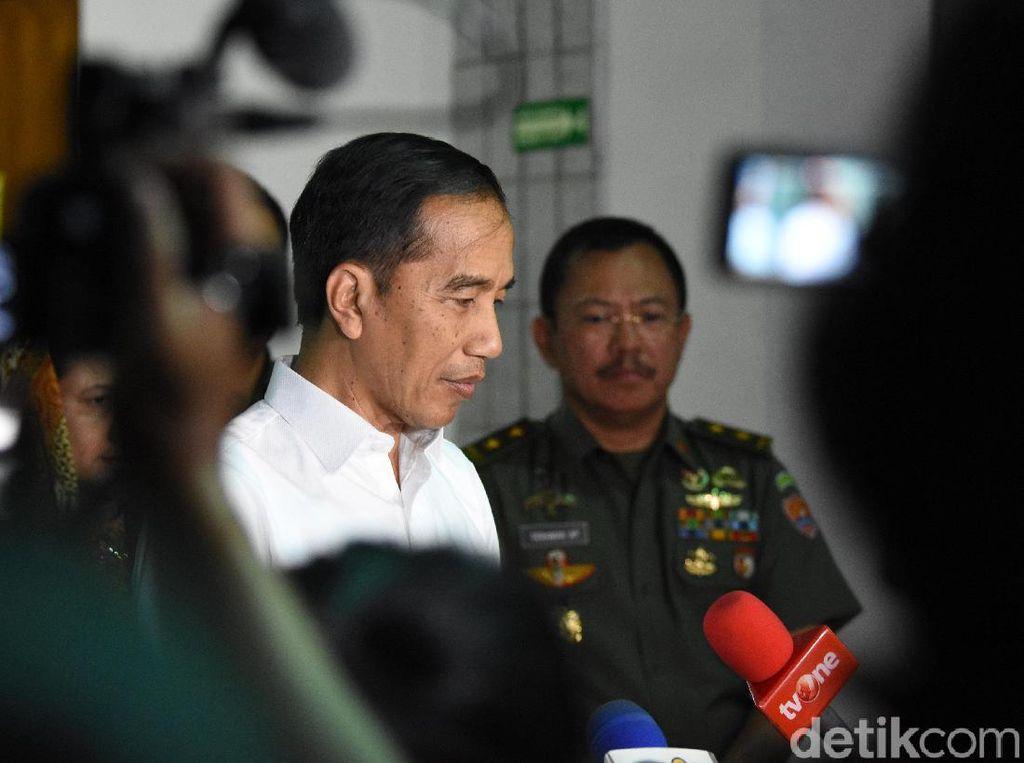 Jokowi Ucapkan Bela Sungkawa Atas Meninggalnya BJ Habibie