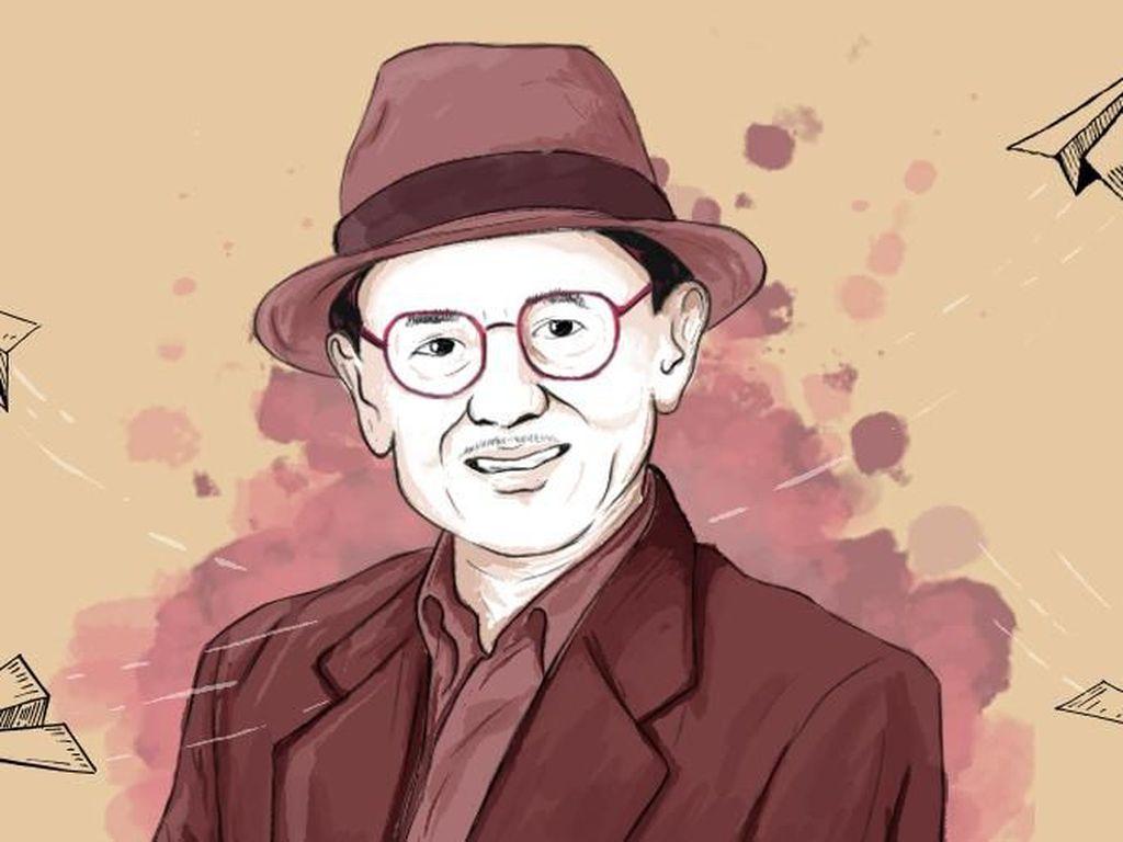 BJ Habibie di Mata Mentan: Bapak Teknokrat