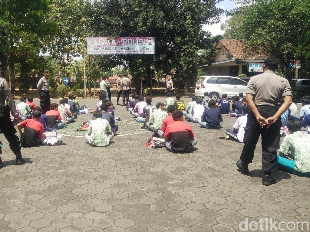 Cegat Truk, 71 Siswa Asal Bogor Diamankan Polisi di Banyumas