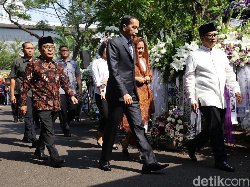 Jokowi hingga SBY Melayat BJ Habibie