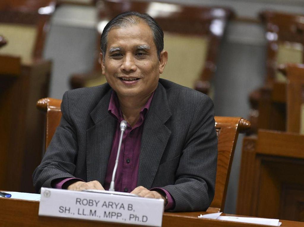 Capim Roby Sepakat Revisi UU: KPK Kan Pintar-pintar, Bisa Diajak Diskusi