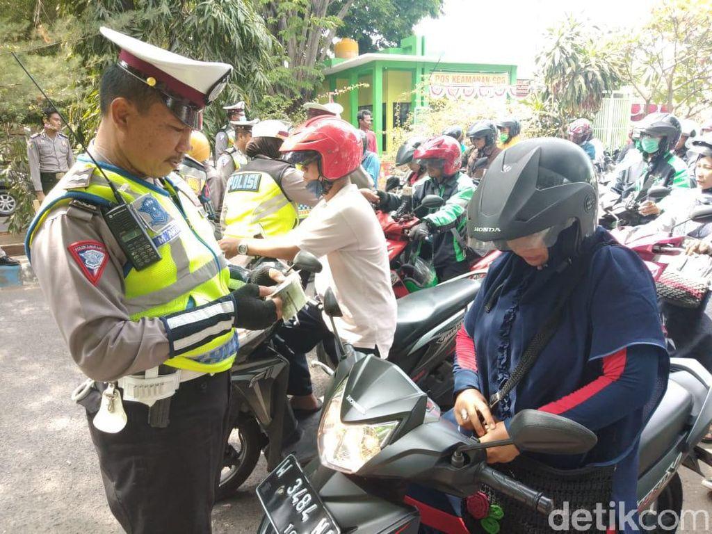 Hari Kedua Operasi Patuh di DKI dan Sekitar, Lawan Arus Pelanggaran Tertinggi