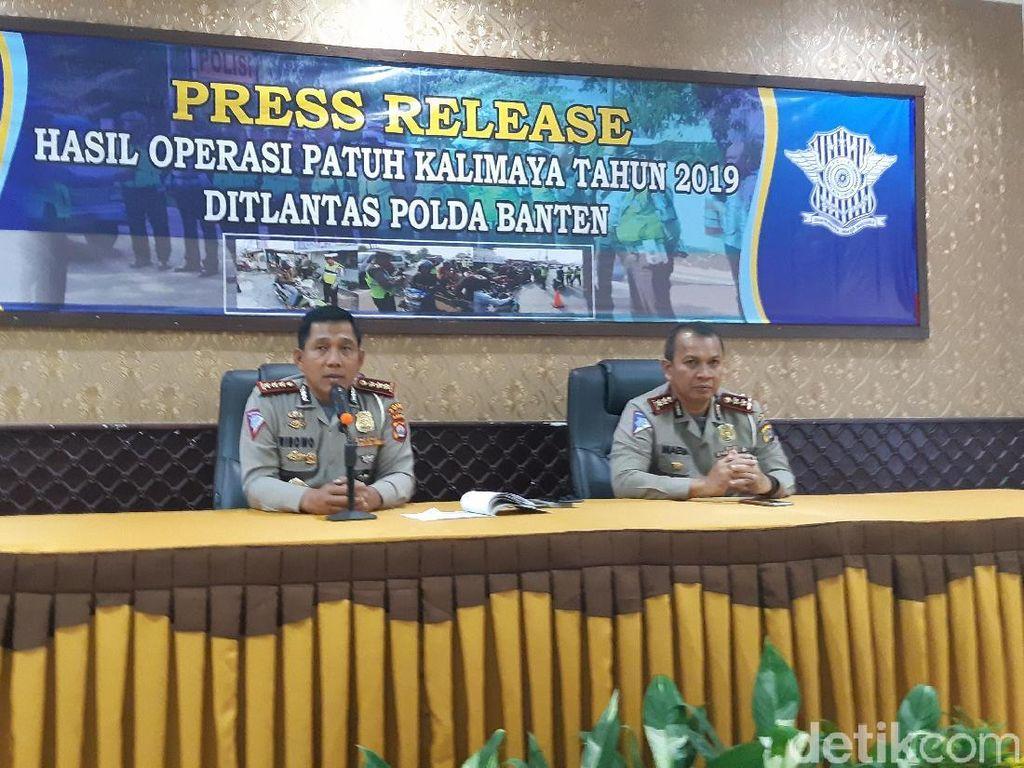 Operasi Patuh Kalimaya Banten Tindak 19.471 Pelanggar Lalin