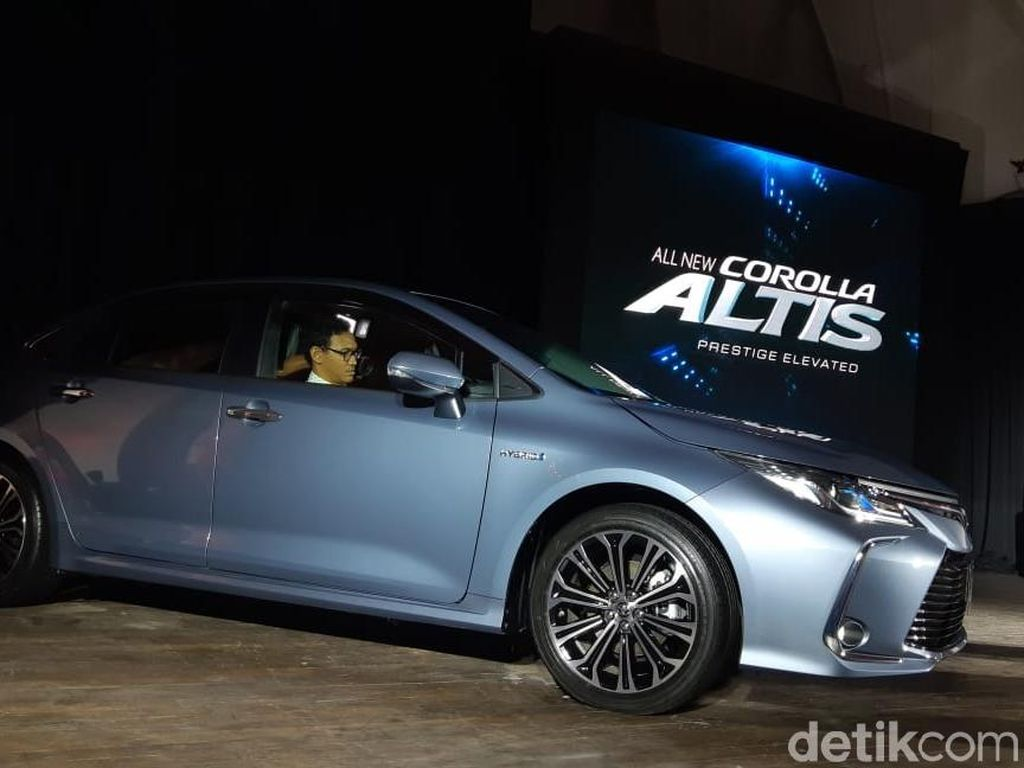 Spek All New Corolla Altis yang Baru Meluncur di RI