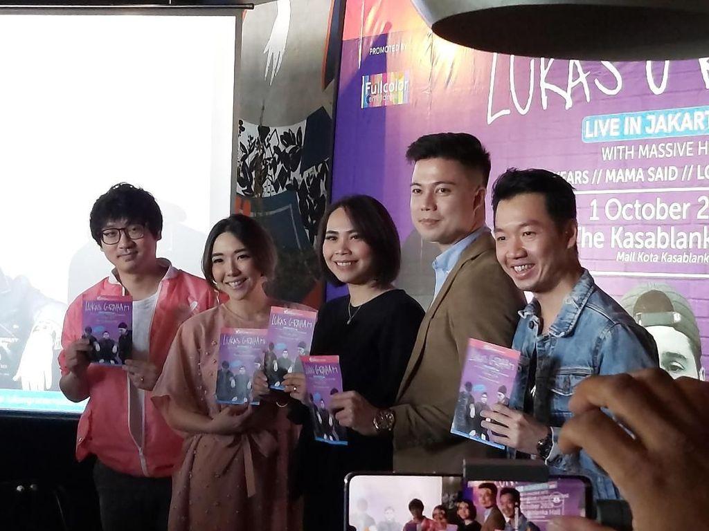 Gisel Jadi Pembuka Konser Lukas Graham di Jakarta
