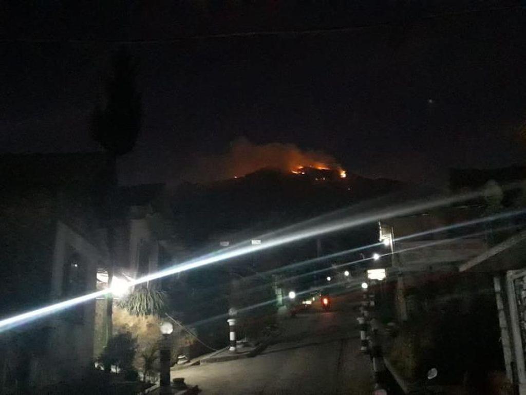 Malam Ini, Kebakaran di Gunung Merbabu Belum Padam