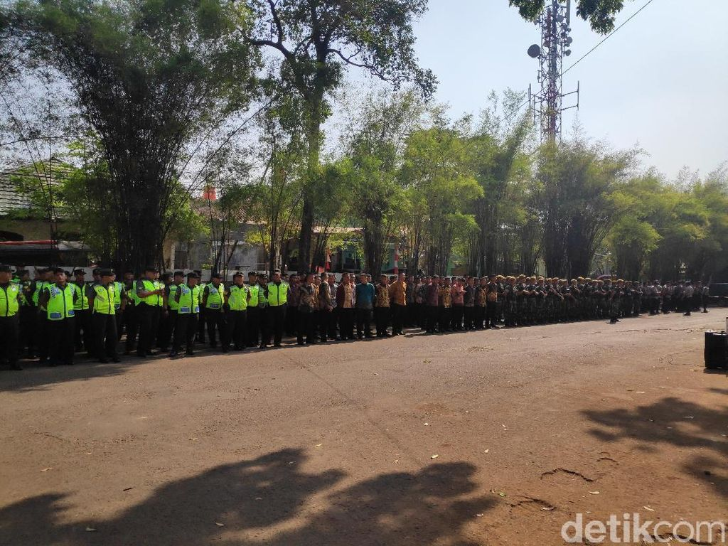 TNI-Polri Gelar Apel Pengamanan Jelang Pemakaman BJ Habibie