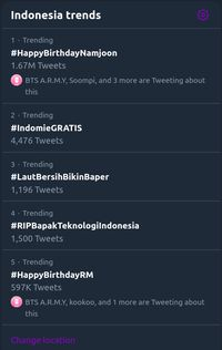 Tagar #RIPBapakTeknologiIndonesia trending di Twitter