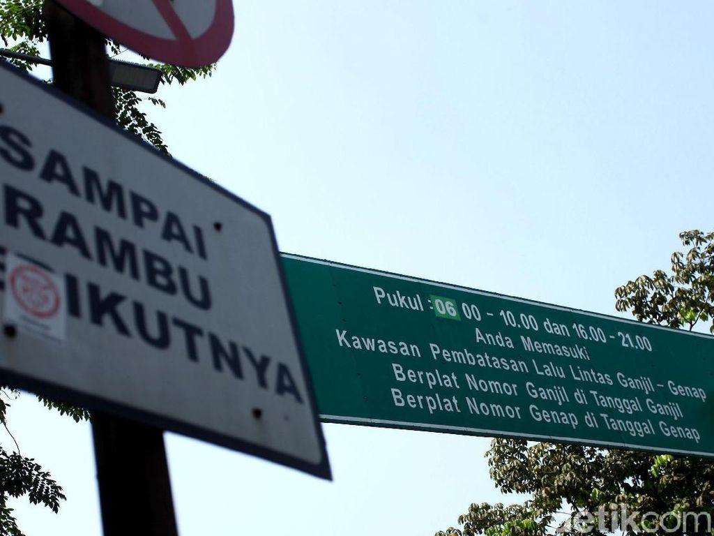 Ganjil-Genap di Jakarta Ditiadakan Pagi Ini