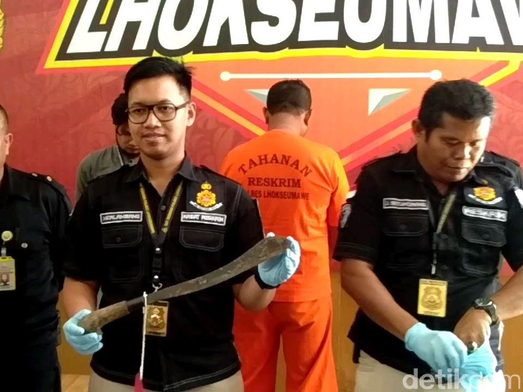 Ini Alasan Pelaku Bacok Purnawirawan TNI di Aceh Hingga Tewas