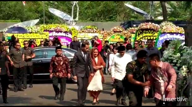 Jokowi & Iriana