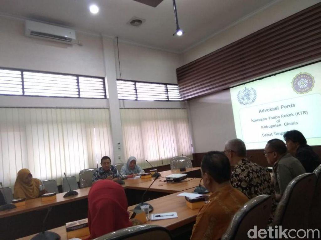 Rektor Universitas Galuh Desak Bupati Ciamis Buat Kawasan Tanpa Rokok