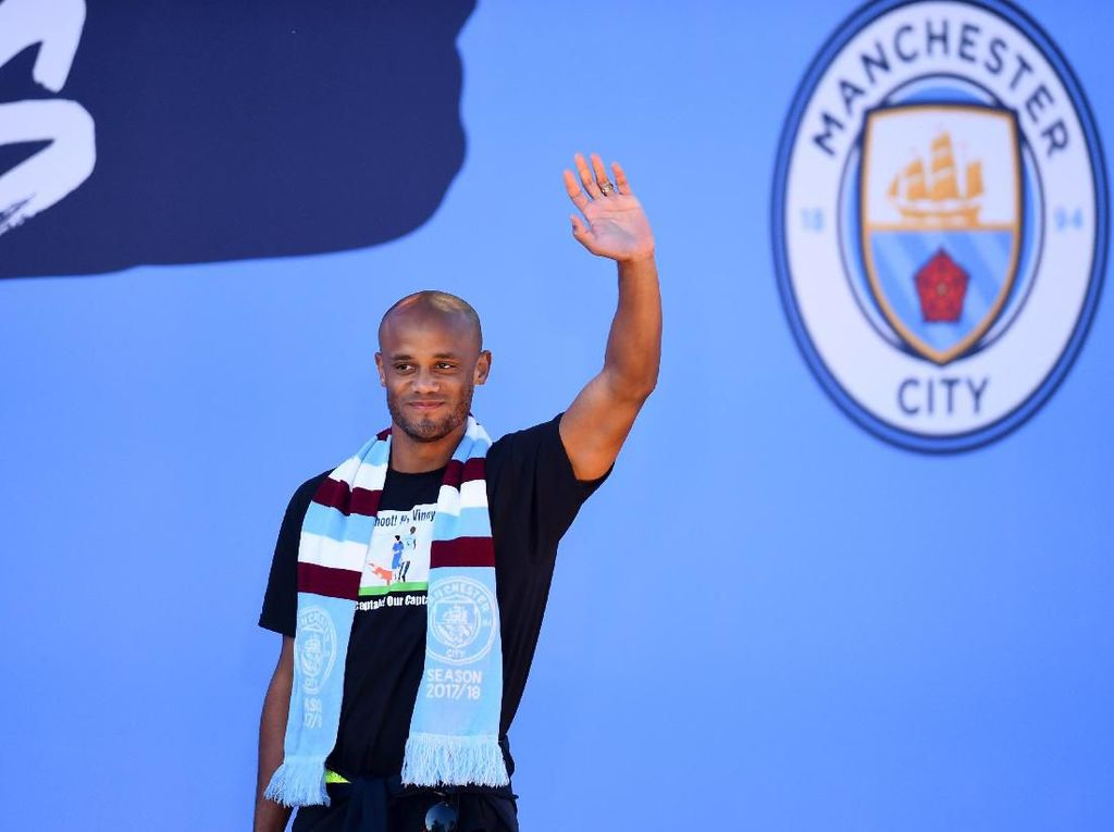 Vincent Kompany Tolak Tawaran Jadi Asisten Pelatih Man City?