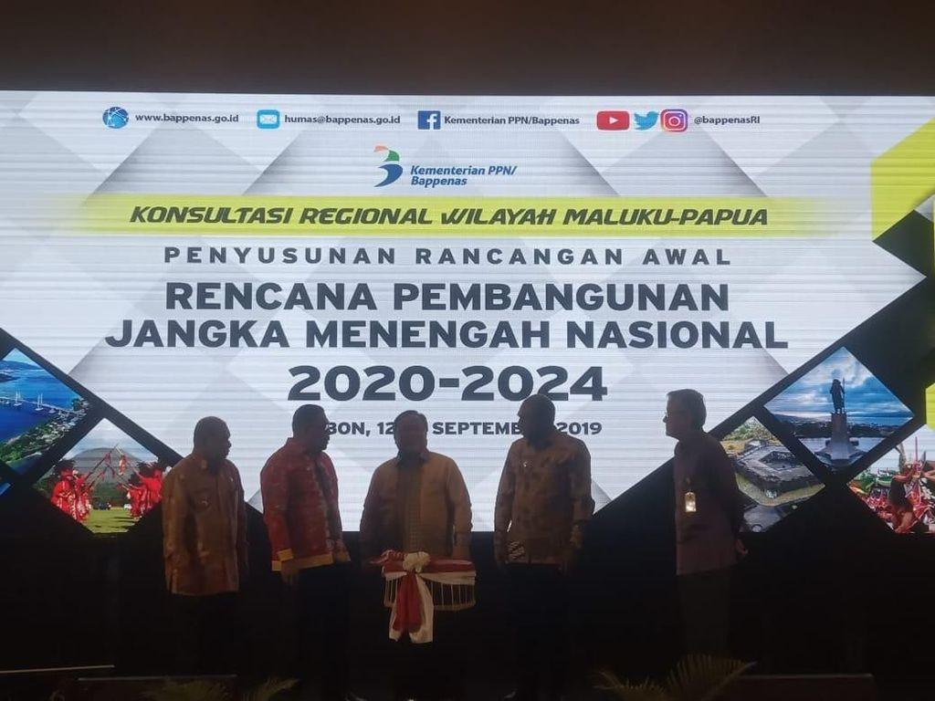 Bappenas Minta Masukan Daerah Timur untuk RPJMN 2020-2024