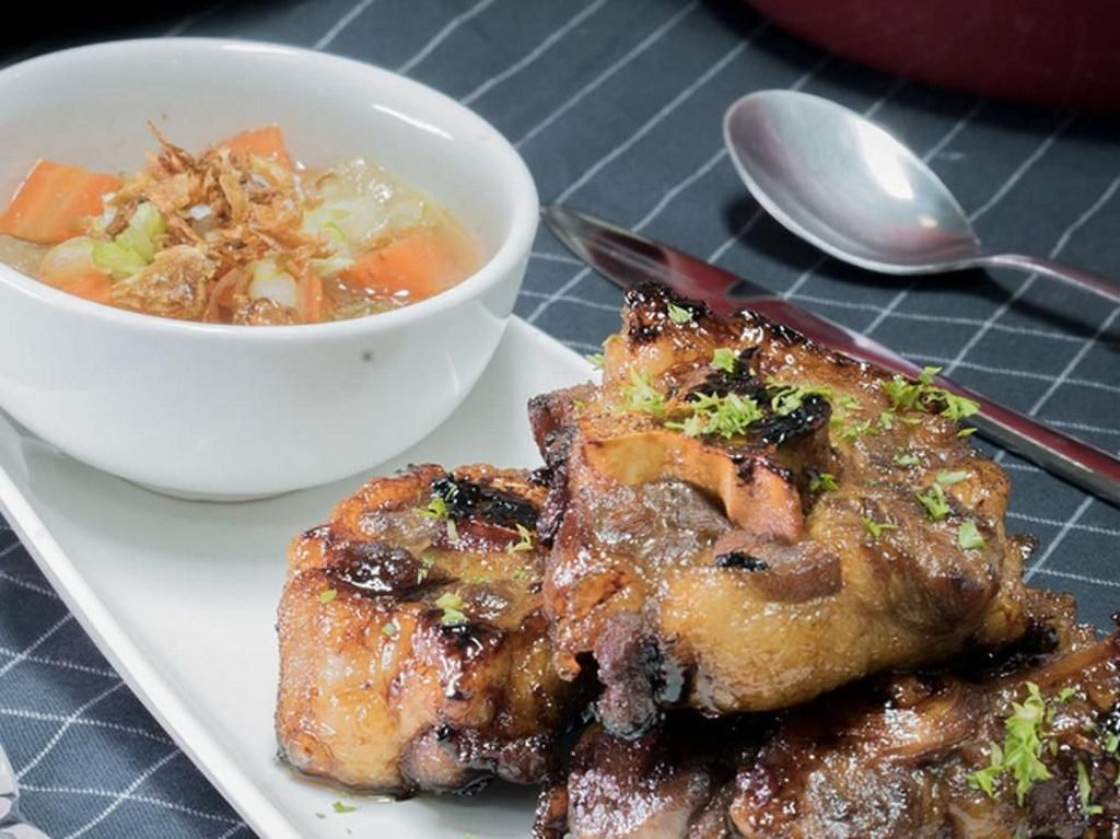 Resep Daging : Sup Buntut Bakar