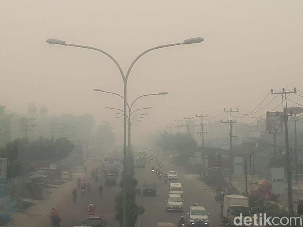 612 Hotspot Terpantau di Sumatera, Provinsi Sumsel Terbanyak