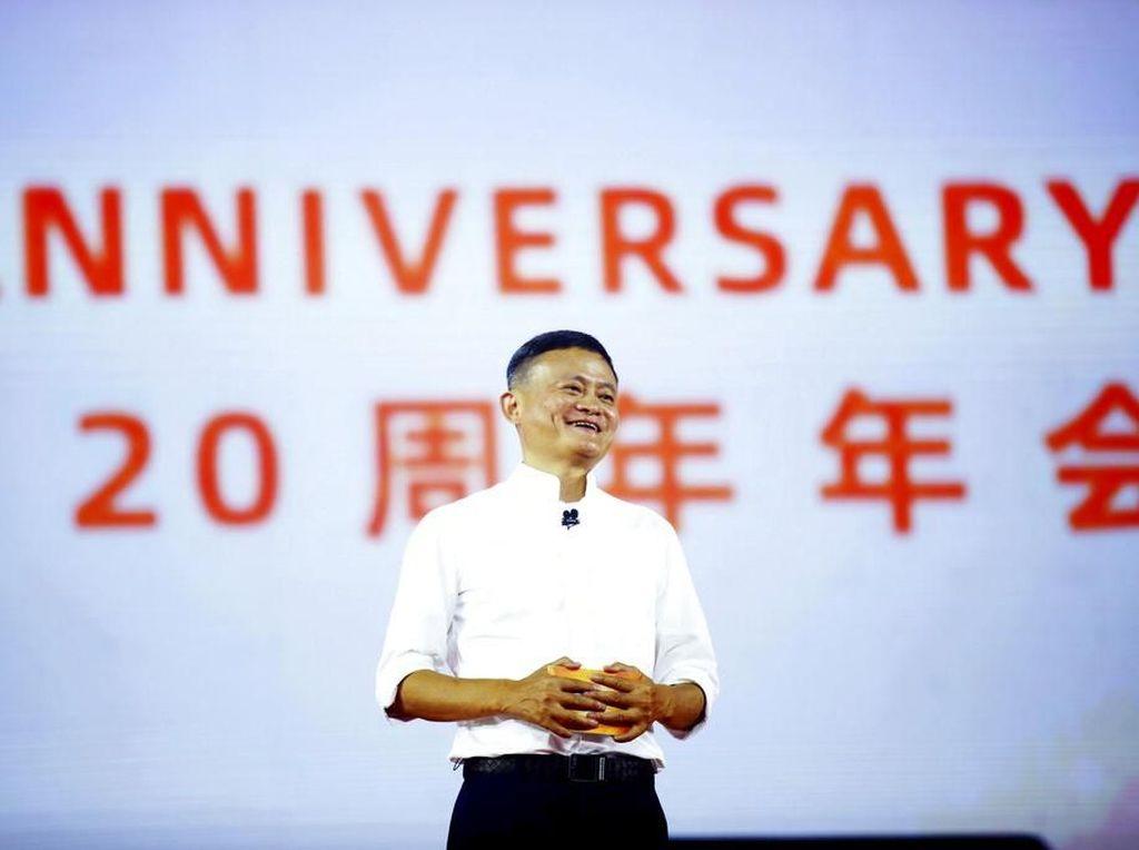 Dalam Semalam Harta Jack Ma Bertambah Rp 396 Triliun