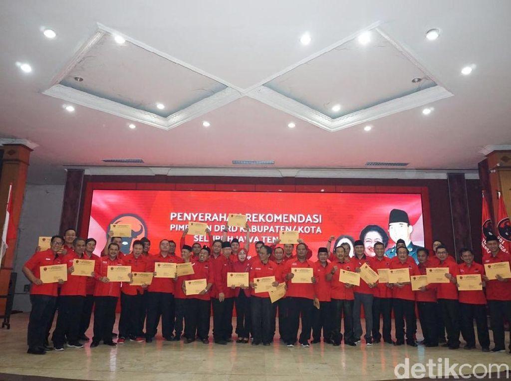 Ini Dia Nama-nama Rekomendasi Ketua DPRD Se-Jateng dari PDIP